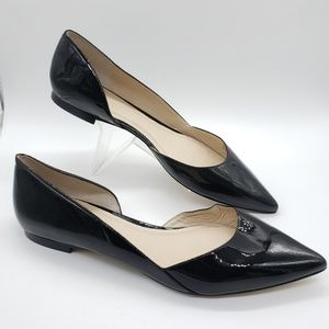 Marc Fisher Shoes - Marc Fisher Sunny D'Orsay patent leather flats 11